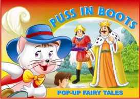 10. pop-up fairy tales - puss in boots