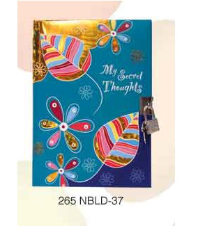 Archies Notebook w lock NBLD-37
