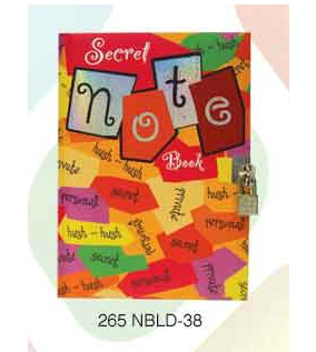 Archies Notebook w lock NBLD-38
