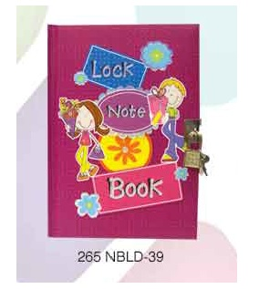 Archies Notebook w lock NBLD-39