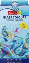 Camlin Glass Colors Water Based - 6 Colors