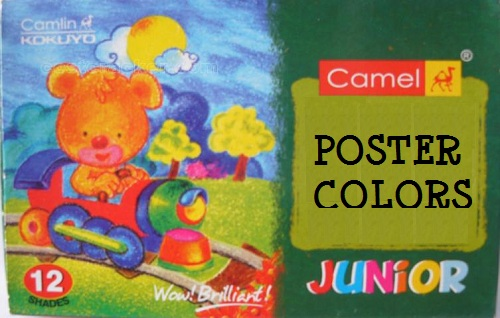 Camlin Student Poster Colors (Set of 6)