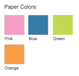 Chart Paper Pink (Pack of 5)