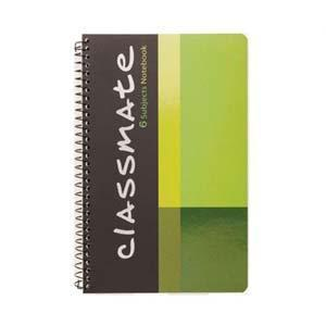 classmate 6 subject notebook 20 3x26 7 300 pg sb02951355
