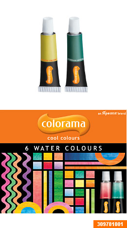 Colorama Water color tube 6