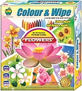 Ekta Color n Wipe - Flowers