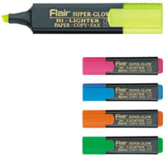 Flair TextLiner Blue
