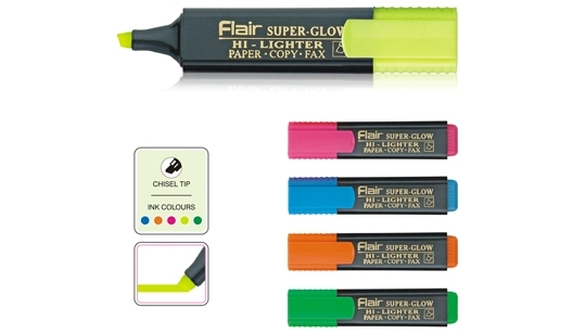 Flair TextLiner Assorted Color 5