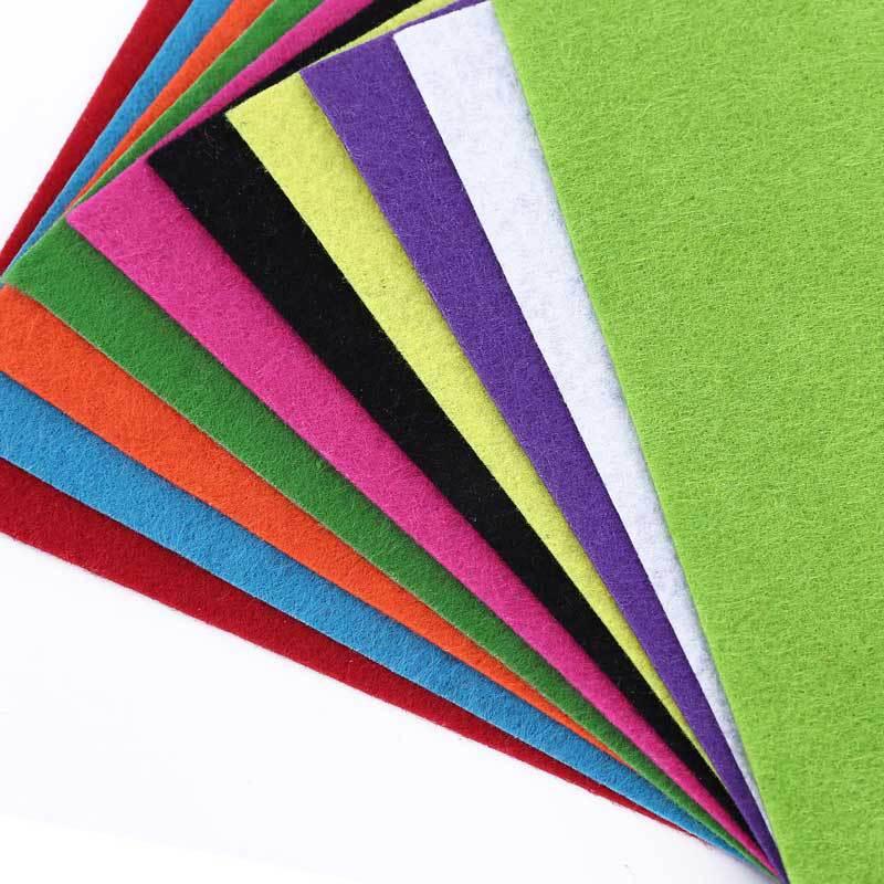 Craft Felt Sheets Stiff pack of 10