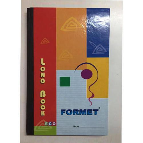 Formet Long Notebook 288 Pages 19x30 cm Ruled