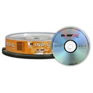 Moser Baer DVD-R Spindle (Pack of 10)