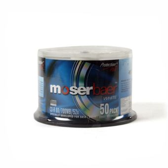 Moser Baer CD-R Spindle (Pack of 50)