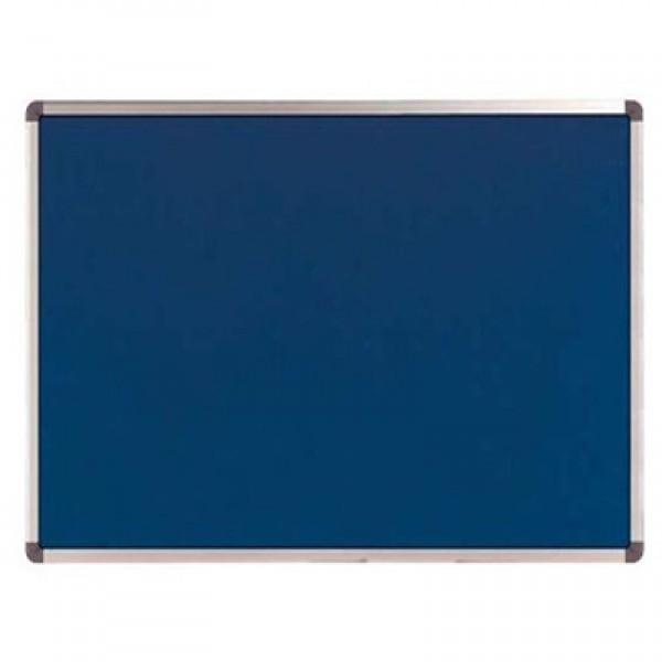 Notice Board Pinup Blue 4x3