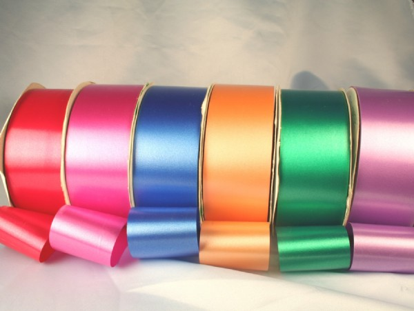 Satin Finish Poly Ribbon 1 inch 90m
