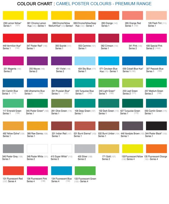 Camlin Poster Colours 100ml Prussian Blue