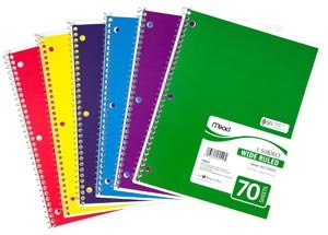 Spiral Notebooks : Online Stationery India, Office