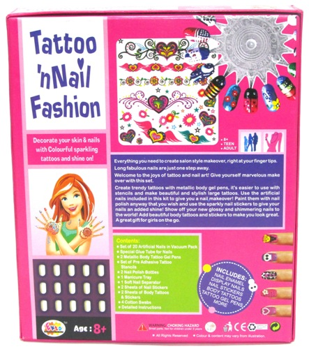 Tatto n Nail Fashion
