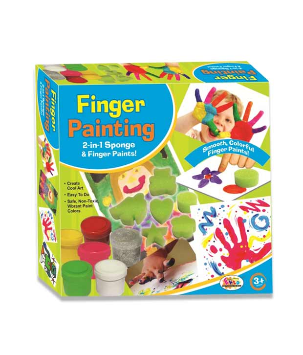 Finger Painting Kit (Junior)